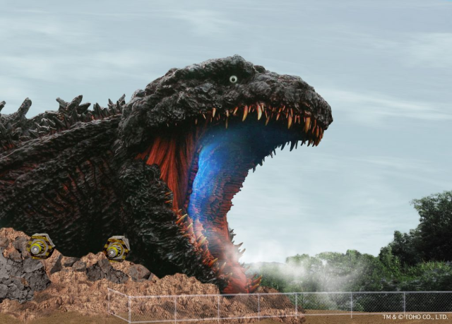 Massive 120-meter Godzilla statue being built as part of Japanese theme park's newest attraction