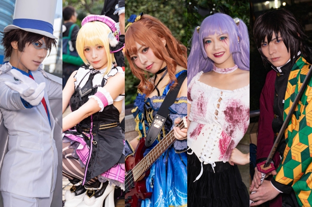 The best Japanese cosplayers from Ikebukuro Halloween Cosplay Fest 2019【Photos】