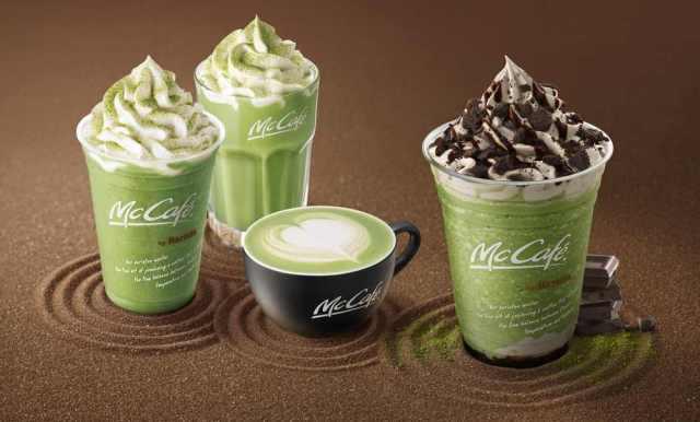 McDonald's Japan unveils new Oreo and matcha green tea frappe