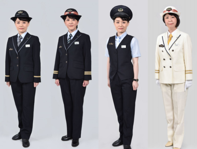 "East Japan Railway abolishes skirts, ribbons in women's uniforms to ""eliminate gender difference"""
