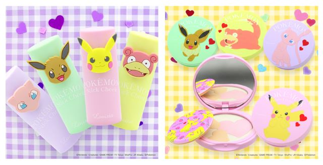 Makeup is more delightful than ever with this new line of adorable Pokémon cosmetics!