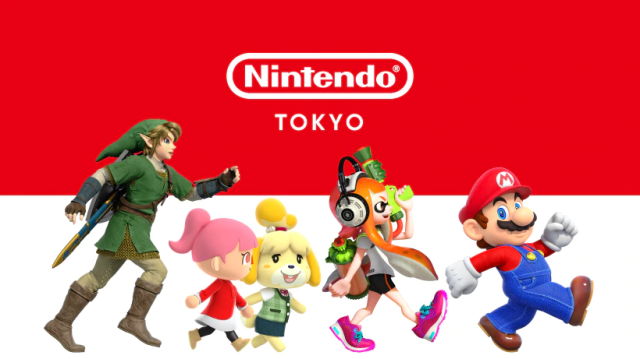 Nintendo announces grand opening date for new official shop in Tokyo, shows off exclusive merch