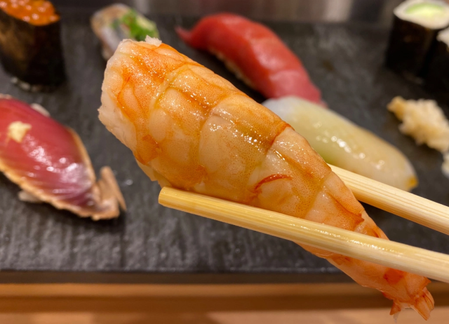 Last chance for sushi before leaving Japan: Narita Airport's amazing Sushi Kyotatsu restaurant
