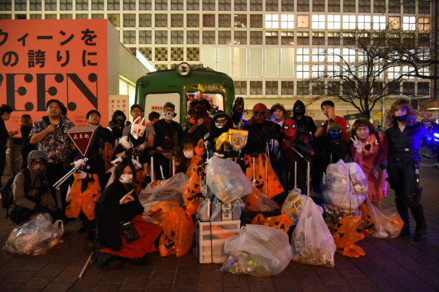 Shibuya Halloween cosplay cleanup crew wants your help this year!