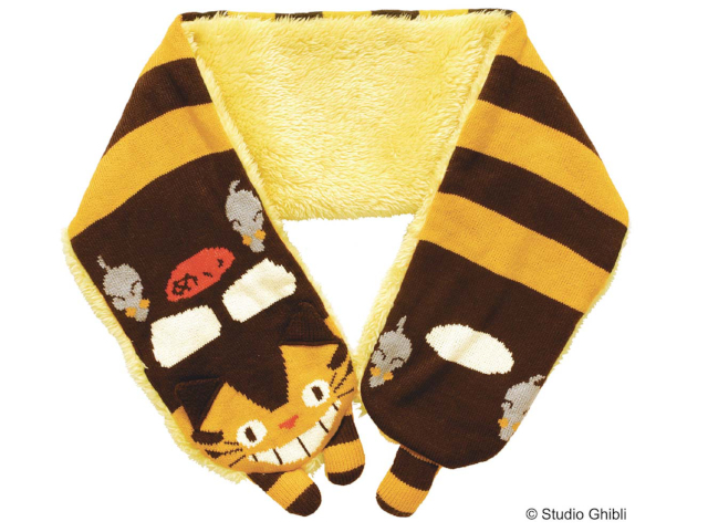 Studio Ghibli scarves, gloves and bags will keep you warm this fall and winter
