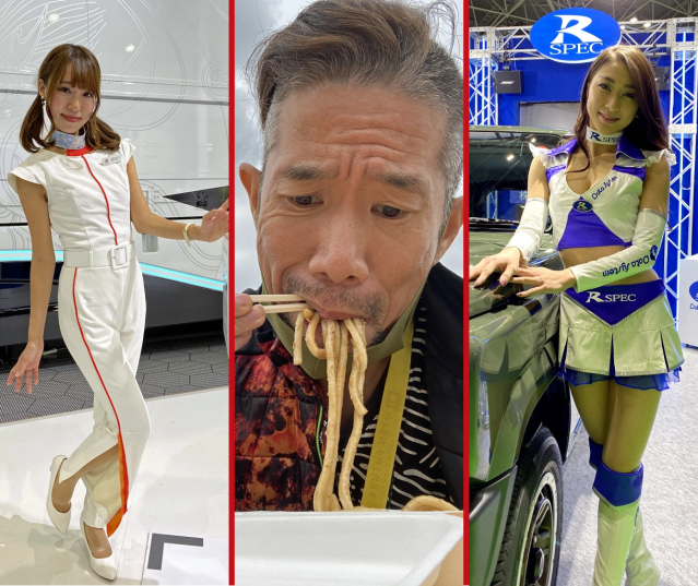 Beautiful booth models and tasty chow – A non-car guide to the Tokyo Motor Show【Photos】