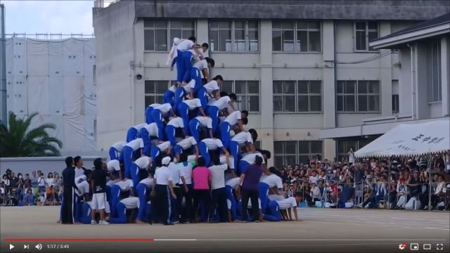 Human pyramids continue in Kobe schools as injuries mount to 51, mayor's pleas to stop unanswered