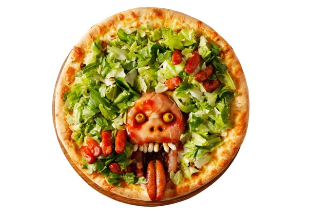 Japanese pizza chain releases spooky Zombie Pizzas for Halloween