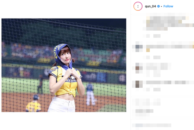 "Beautiful Taiwanese cheerleader dubbed ""stadium angel"" by adoring baseball fans【Pics, Videos】"