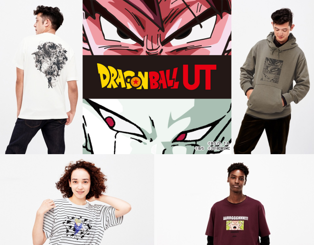 Uniqlo's new Dragon Ball T-shirts and hoodies modeled for the first time【Photos】