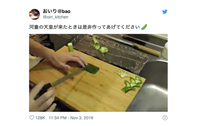 Japanese knife professional transforms vegetables into works of art【Videos】