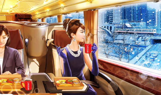 Ultra-luxurious breakfast bus will give Tokyo commuters a break from the hell of rush-hour trains
