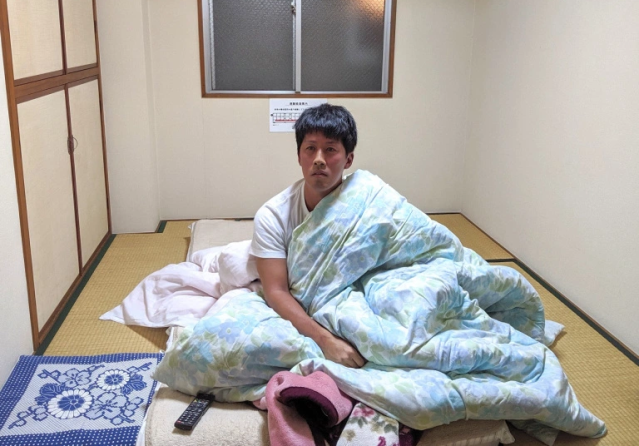 Japan's cheapest hotel charges just 130 yen (US$1.20) for a room, with a huge, no-privacy catch