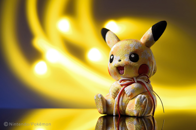 Beautiful kimono-cloth Pikachu doll is latest creation from century-old Tokyo doll maker【Photos】