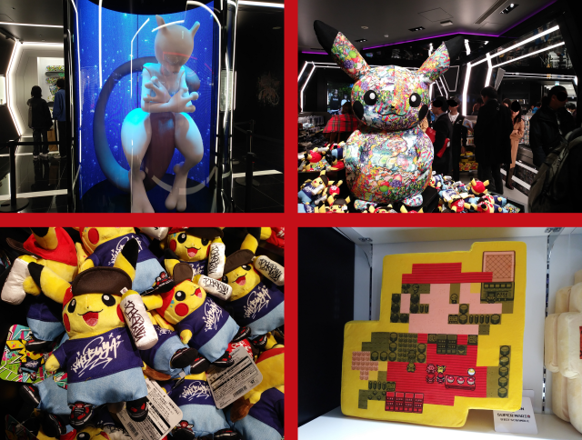 Life-size Mewtwo, graffiti Pikachu welcome us to the newest Pokémon Center megastore in Shibuya