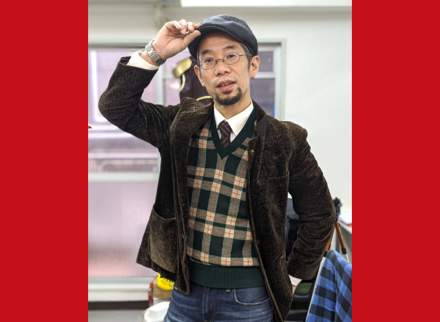 Mr. Sato rocks a 40-year-old vintage Japanese outfit with a heart-melting backstory【Photos】