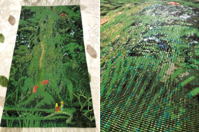 Best Secret of Mana fan art ever? Jaw-dropping project took over a year, 150,000 beads【Photos】
