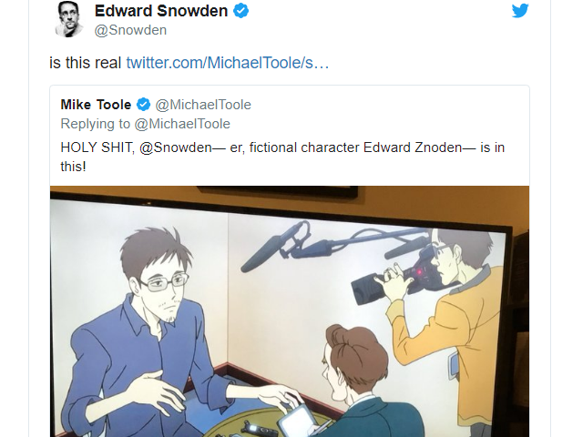 Edward Snowden Reacts to His Cameo in Lupin III: Goodbye Partner