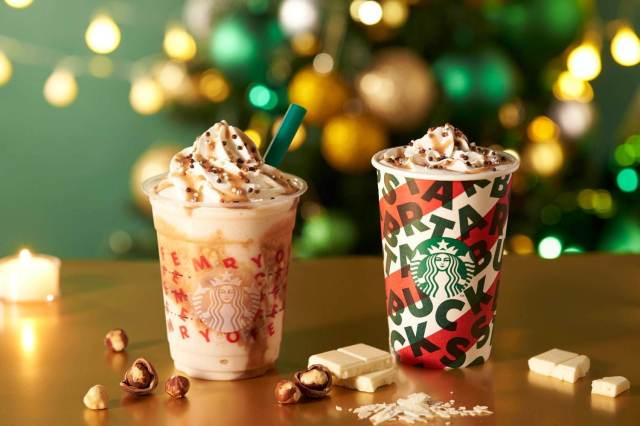 Starbucks Japan unveils new Nutty White Chocolate Frappuccino for Christmas 2019