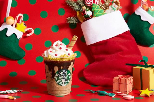 Starbucks Japan unveils new Santa Boots Chocolate Frappuccino for Christmas 2019