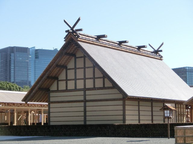 Buildings used for the emperor's Daijosai ceremony are open for public viewing until December 8