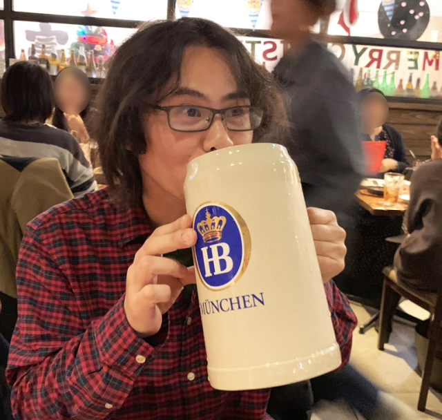 Akihabara bar's secret menu beer is a massive treat in the world's biggest otaku culture center