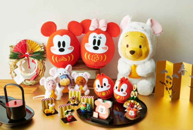 Disney's Japanese New Year's plushies and figures are ready to make oshogatsu cuter than ever