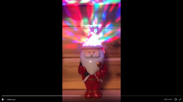 Do you need this unnecessary Santa disco light from Francfranc this Christmas? Yes, yes you do