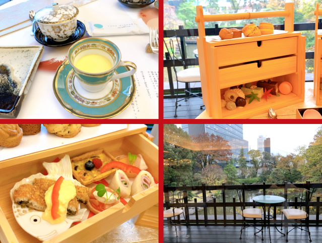 Experience afternoon tea with a Japanese twist in Harajuku!【Photos】