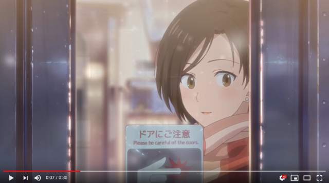 This beautiful, heartwarming winter anime is also a McDonald's Japan commercial【Video】