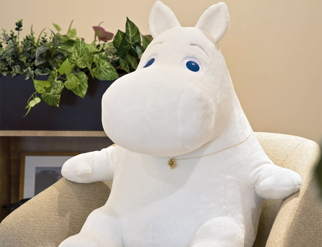 Only 75 of this gigantic anniversary Moomin plush from Japan will be made: get your orders in!