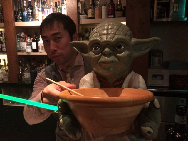 We visit a Yokohama bar for some Star Wars cocktails, get served by a world class bartender