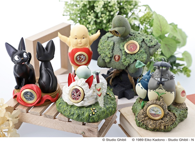 New Studio Ghibli clocks let you keep an eye on the time with your favourite anime characters