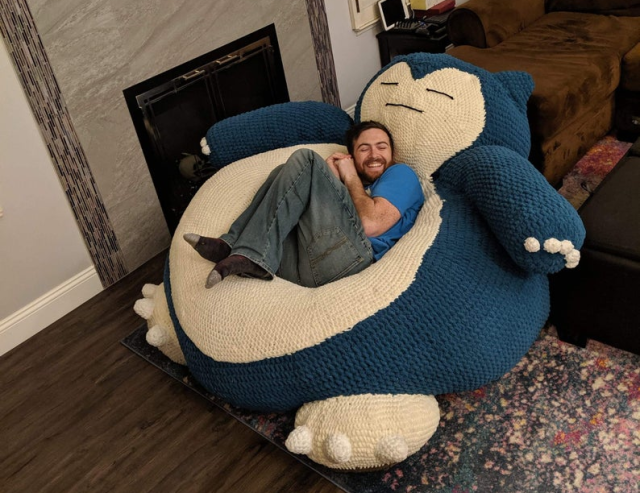 Make no mistake, that's officially NOT a Snorlax Pokémon bed