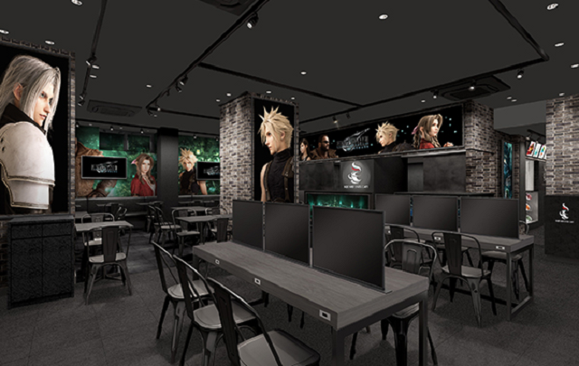 Final Fantasy VII cafes are opening in Tokyo and Osaka to celebrate legendary game's remake