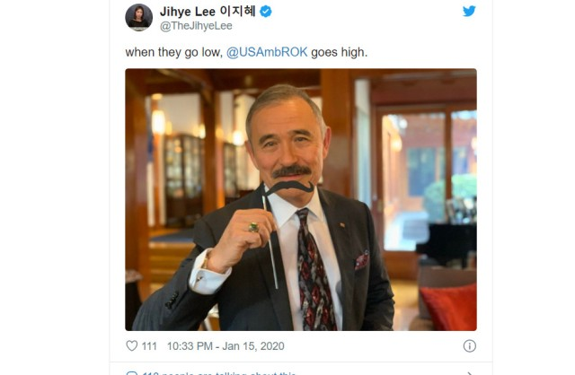 Is the U.S. ambassador to Korea's mustache really that big of a deal to South Koreans?