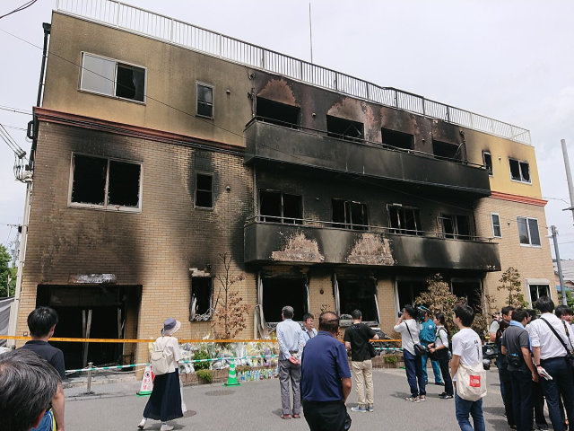 Mother of Kyoto Animation artst who died in arson wants on-site memorial, residents opposed