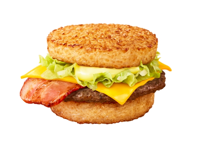 McDonald's releases new rice burgers in Japan