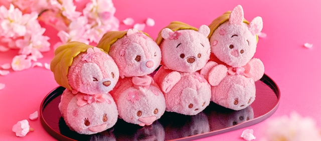 Inedible but squeezable: Disney announces Tsum Tsum sakura mochi line