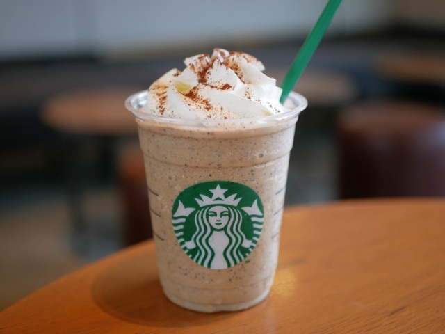 Taste-testing the new Chocolate Milk Tea Frappuccino from Starbucks Japan