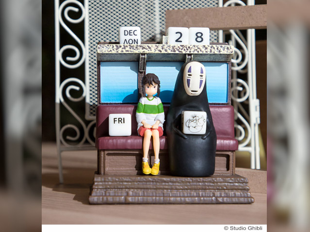 Studio Ghibli makes every day magical with new Spirited Away, Totoro and Kiki calendars