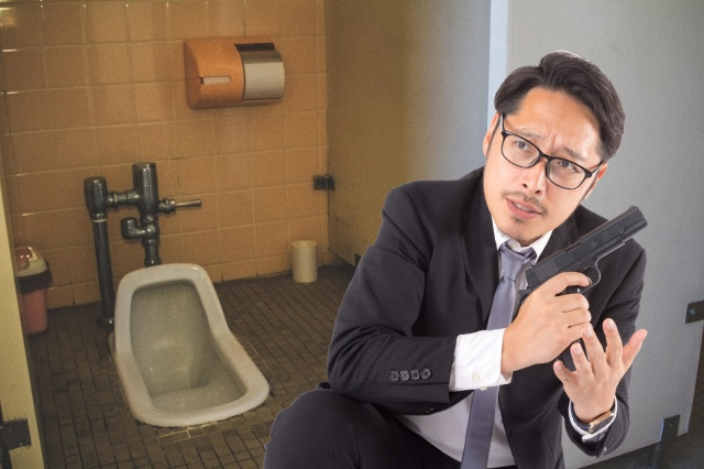 Japanese police officers increasingly forgetting their guns in public restrooms