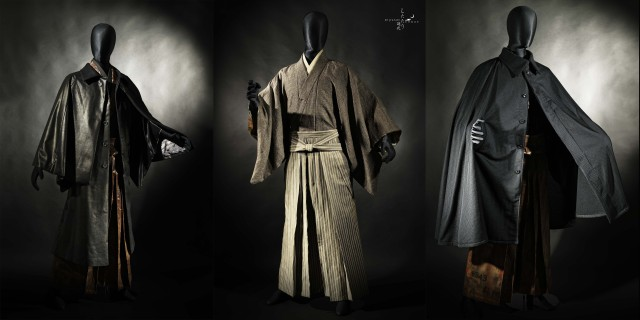 Wazigen Shizukaya's latest collection of modern men's kimono make a move for high fashion