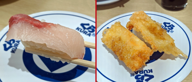 New sushi types: chocolate citrus yellowtail and cheddar cheese tempura. Crazy, or crazy good?
