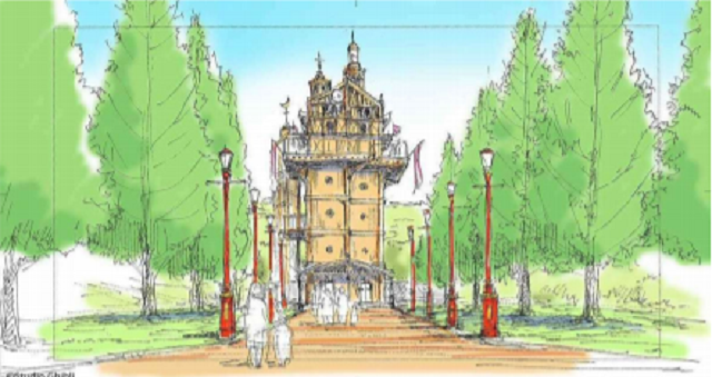 Ghibli theme park will recreate Howl's castle, Princess Mononoke's Irontown, and Kiki's house