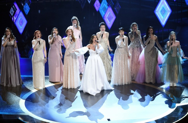 Japanese fans ecstatic to see Takakao Matsu perform at Oscars with Idina Menzel and 9 other Elsas