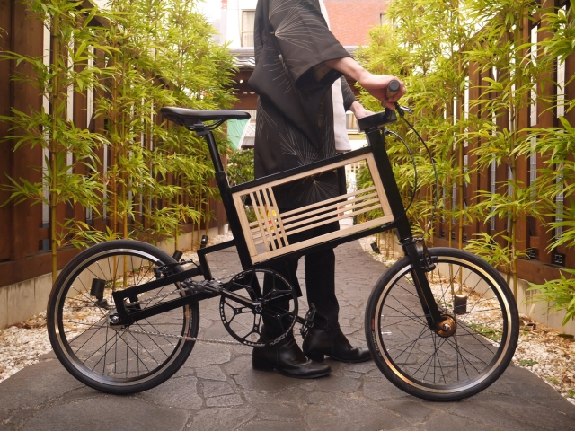 Japanese student creates Traditional Japan Bicycle, brings new life to centuries-old craft