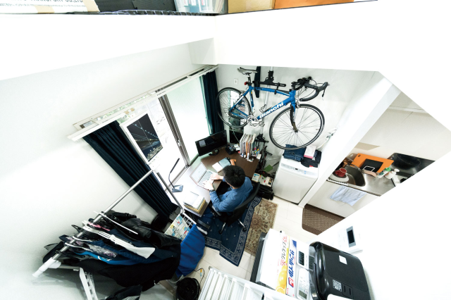 These apartments are crazy-small even by Tokyo standards, and super-popular with young people
