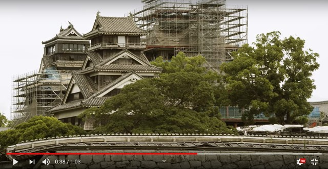 Kumamoto Castle reconstruction well under way as the complex slowly reopens to visitors【Video】