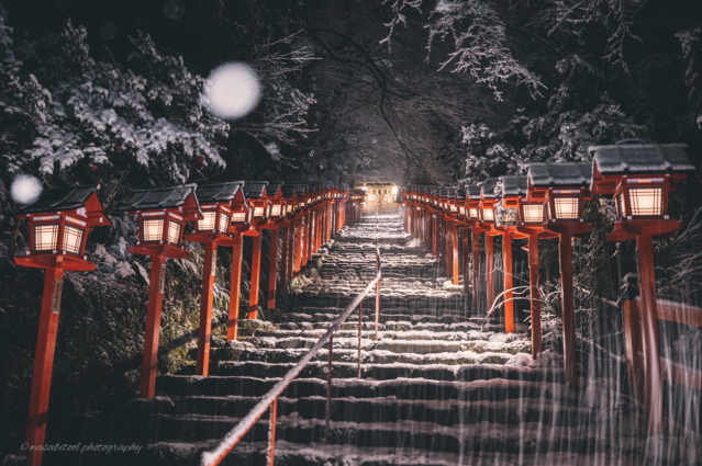 Japanese photographer captures the beauty of Kyoto in the snow 【Photos】